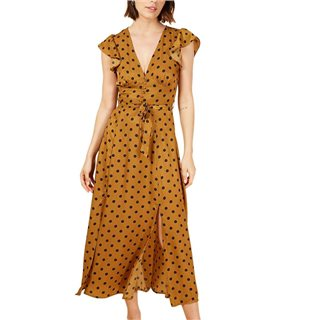 FRNCH Paris Marron Aurele Dress