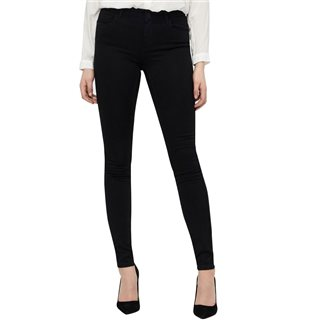 Vero Moda Black Regular Waist Shape Up Slim Fit Jeans