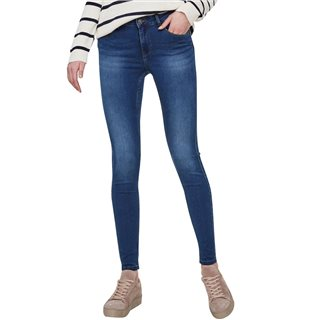 Vero Moda Medium Blue Seven Nw Shape Up Skinny Fit Jeans