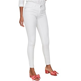 Vero Moda Bright White Seven Nw Shape Up Skinny Fit Jeans