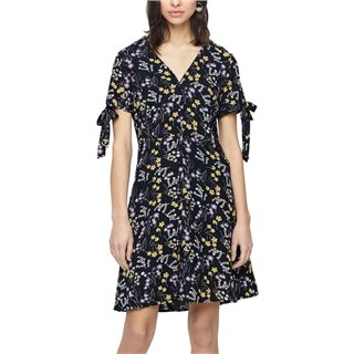 Vero Moda Black Short Sleeved Short Dress