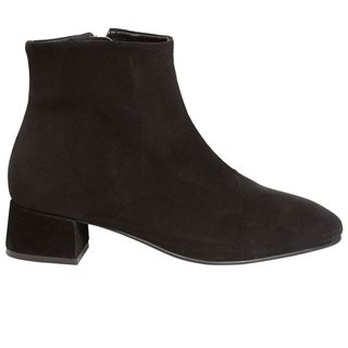 Vero Moda Shoes Black Ellen Leather Ankle Boot