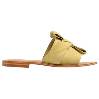 Vero Moda Mellow Yellow Kala Leather Sandal