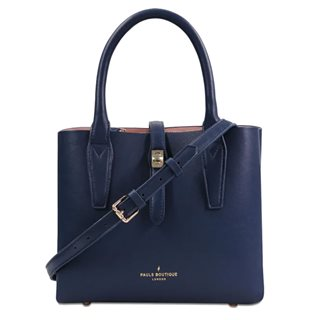 Paul's Boutique Navy Estelle Top Handle Bag
