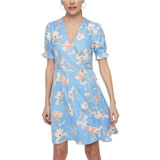 Vero Moda Granada Sky Floral Printed Short Dress