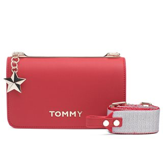 Tommy Accessories Red Statement Crossover Bag