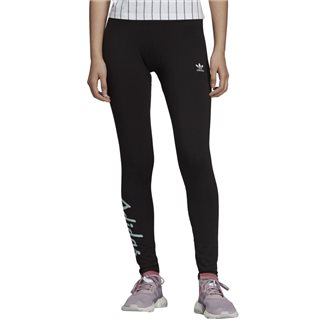 adidas Originals Black Logo Leggings