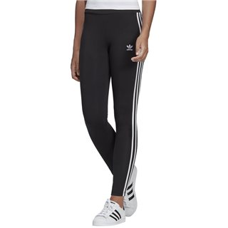 adidas Originals Black 3-Stripes Leggings