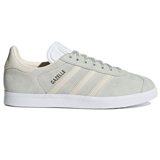 adidas Originals White Grey Gazelle Shoes