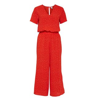 ICHI Poinciana Bright Jumpsuit