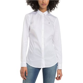 Tommy Jeans Stretch Cotton Regular Fit Shirt