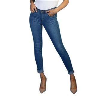 Rant & Rave Blue Bella Cropped Jeans