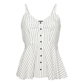 Vero Moda Ivory Cluna Striped Top