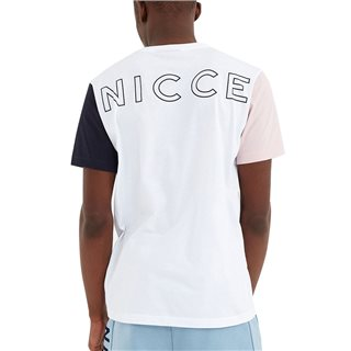 Nicce White/Pink Neo T-Shirt