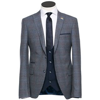 Benetti Royal Napoleon Tapered 3-Piece Suit