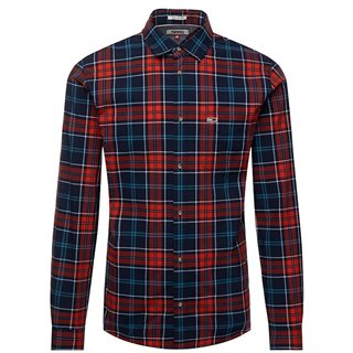Tommy Jeans Black Iris Longsleeve Check Shirt