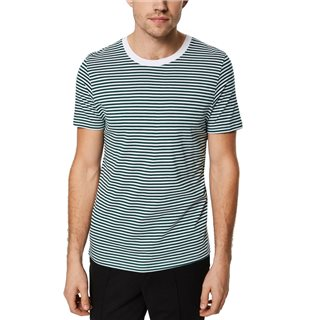 Selected Homme Rain Forest Crew Neck Striped T-Shirt