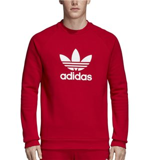 adidas Originals Power Red Trefoil Warm-Up Sweater
