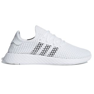 adidas Originals White Deerupt Runner Shoes