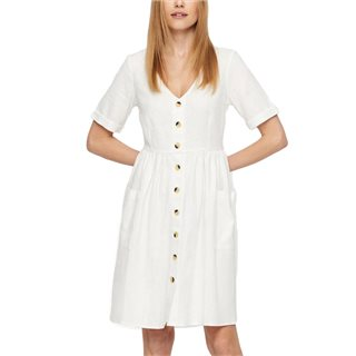 Vero Moda Snow White Short Button Dress