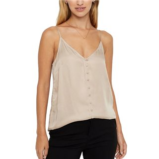 Vero Moda Doeskin Veronica Singlet Top