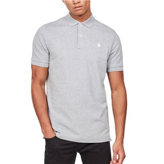 G-Star Grey Heather Dunda Slim Polo Shirt
