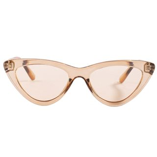 NA-KD Brown Rounded Cat Eye Sunglasses