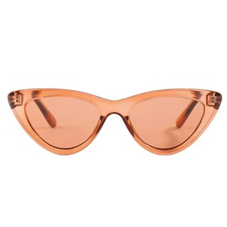 NA-KD Red Rounded Cat Eye Sunglasses