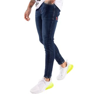 11 Degrees Indigo Wash Stretch Skinny Jeans