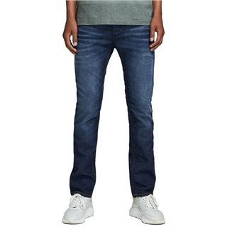 Jack & Jones Intelligence  Blue Denim Tim Original JOS 719 Slim Fit Jeans