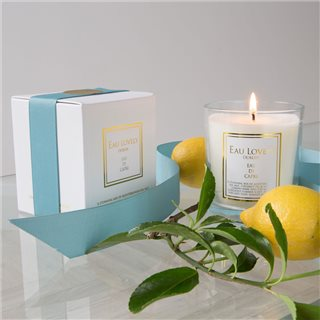 Eau Lovely Eau Di Capri Candle