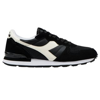 Diadora Black/White Camaro Sports Shoes