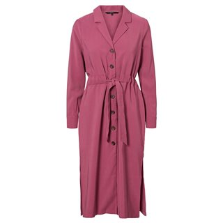 Vero Moda Hawthorn Rose Longsleeve Calf Dress