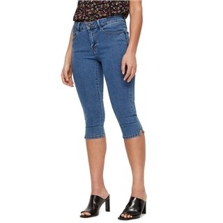 Vero Moda Medium Blue Denim Denim Capris