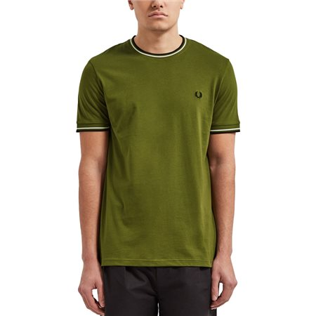 Fred Perry Cypress Twin Tipped T-Shirt  - Click to view a larger image
