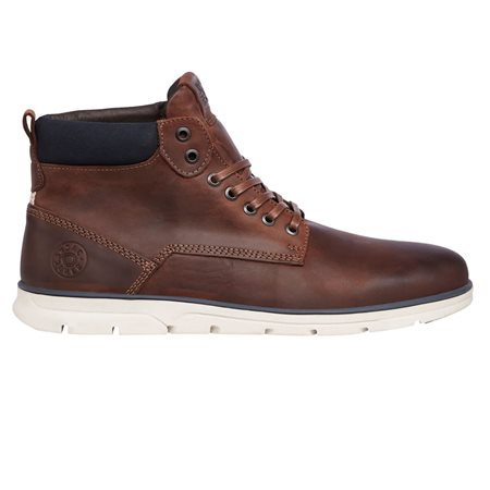 Jack & Jones Footwear Brandy Tubar Leather Boots  - Click to view a larger image