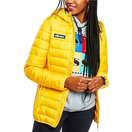 Ellesse Dark Yellow Lombardy Padded Jacket  - Click to view a larger image