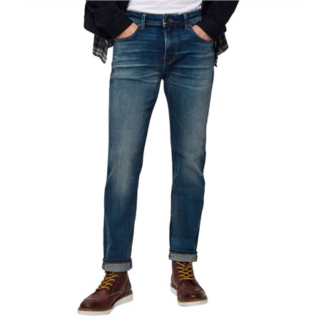 Selected Homme Medium Blue 6163 Slim Fit Jeans  - Click to view a larger image