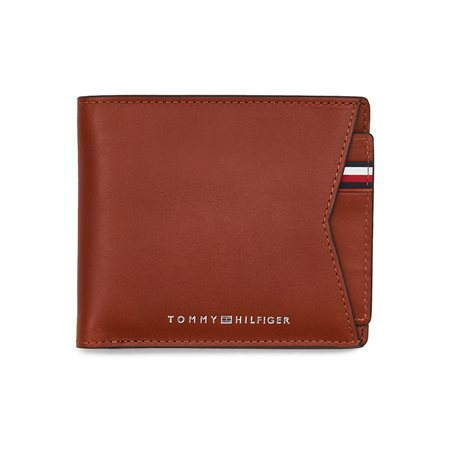 Tommy Hilfiger Cognac Wallet And Removable Credit Card Holder  - Click to view a larger image