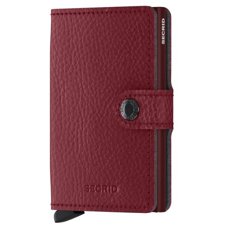 Secrid Rosso Veg Leather Mini Wallet  - Click to view a larger image