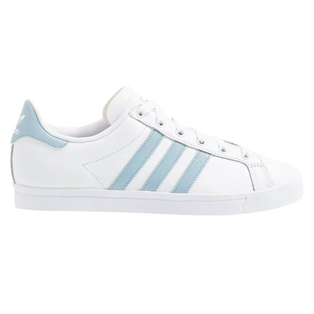 adidas Originals White / Ash Green Coast Star Trainers  - Click to view a larger image
