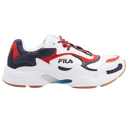 Fila White Luminance Trainers  - Click to view a larger image