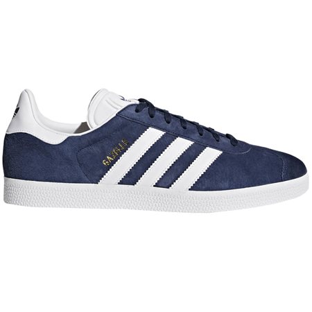 adidas Originals Navy Gazelle Trainers  - Click to view a larger image