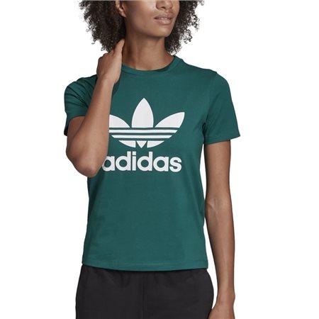 adidas Originals Green Trefoil T-Shirt  - Click to view a larger image