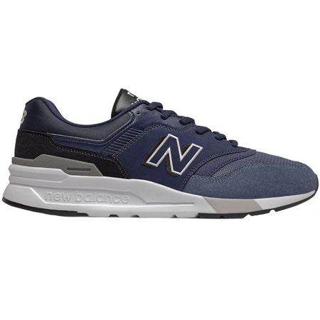 New Balance Navy 997H Trainers  - Click to view a larger image