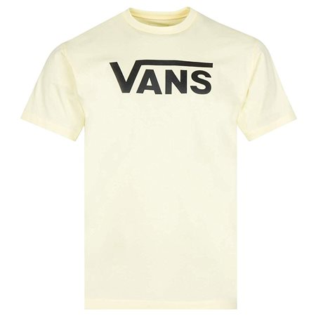 Vans Clothing Double Cream / Black Classic T-Shirt  - Click to view a larger image