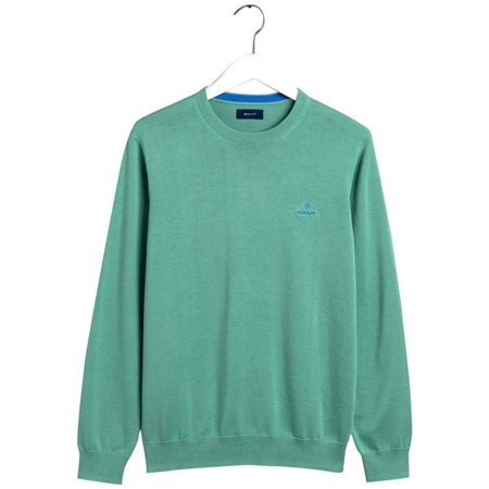 Gant Peppermint Classic Cotton Crew Sweater  - Click to view a larger image