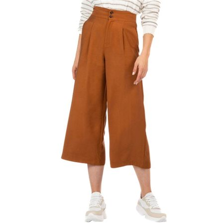 Tiffosi Brown Lara Trousers  - Click to view a larger image