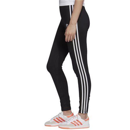adidas Originals Black Adicolor 3-Stripes Leggings  - Click to view a larger image