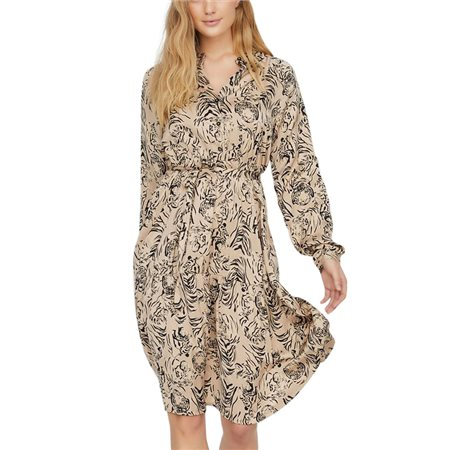 Vero Moda Nomad Kate Printed Dress  - Click to view a larger image